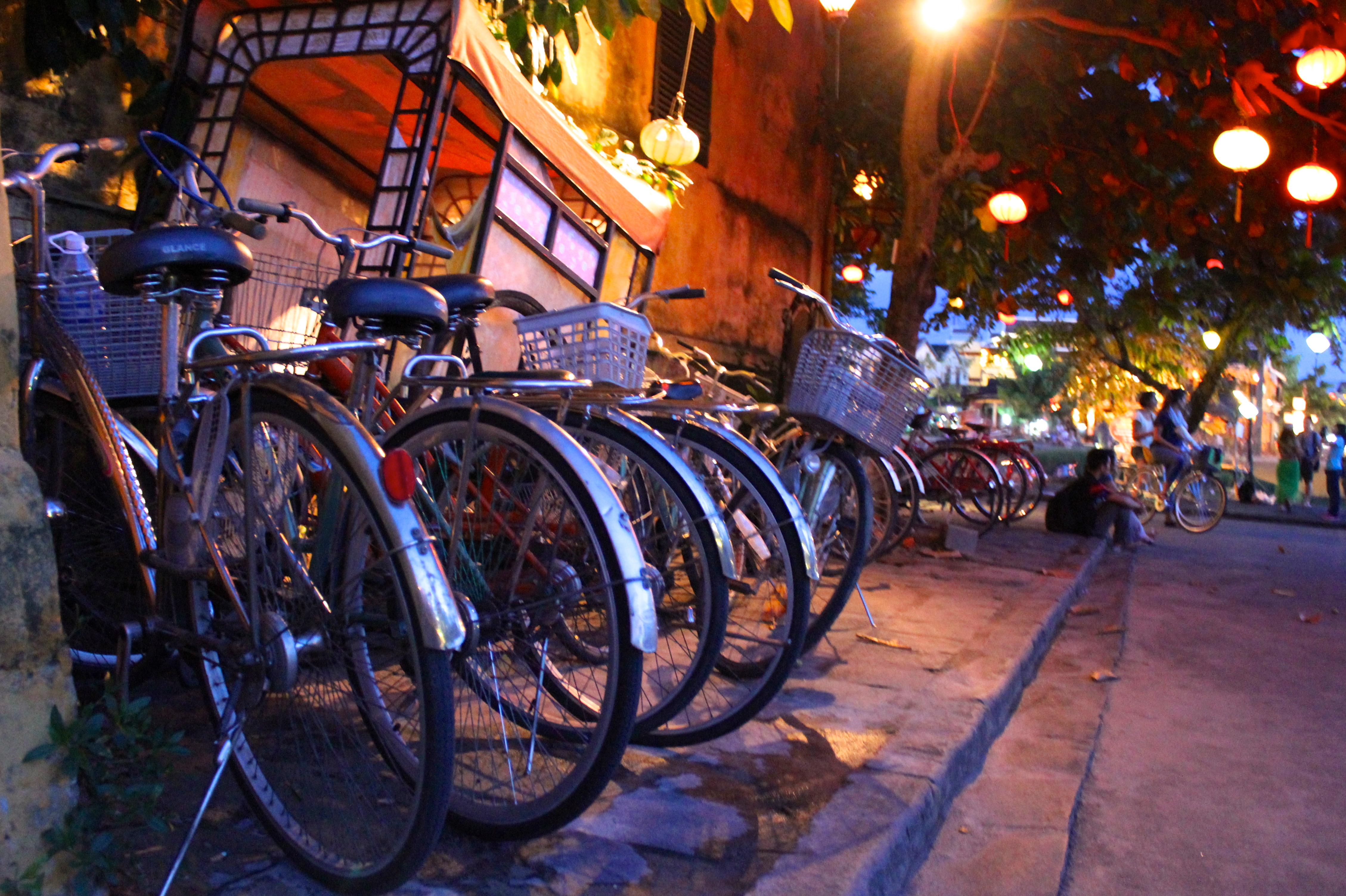 Bicycles are by far the best way to roll around Hoi An, Vietnam