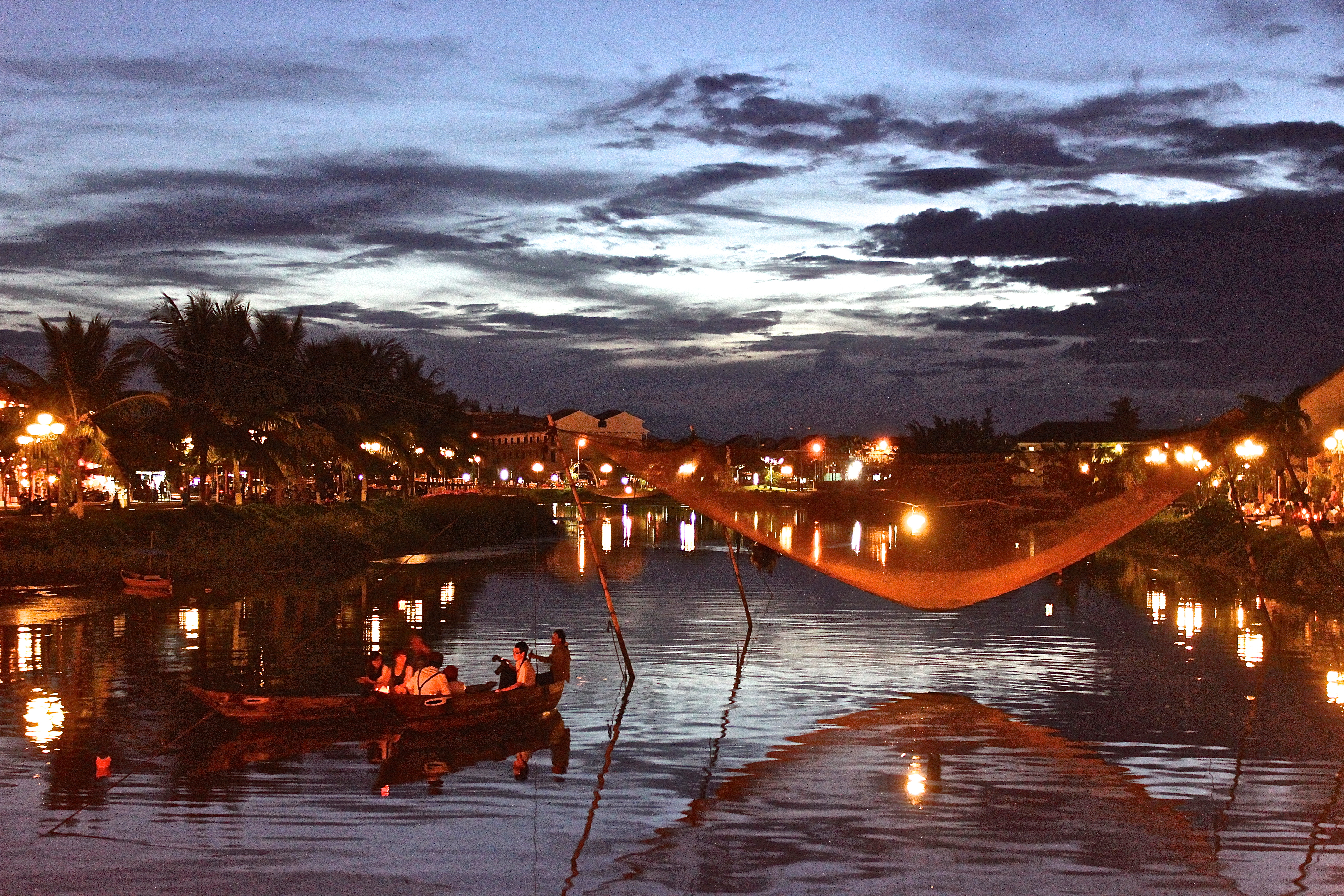 The Thu Bon river and its tributaries, cutting through Hoi An, were an ancient transport network for the Cham Kingdom. © Tara Shahani
