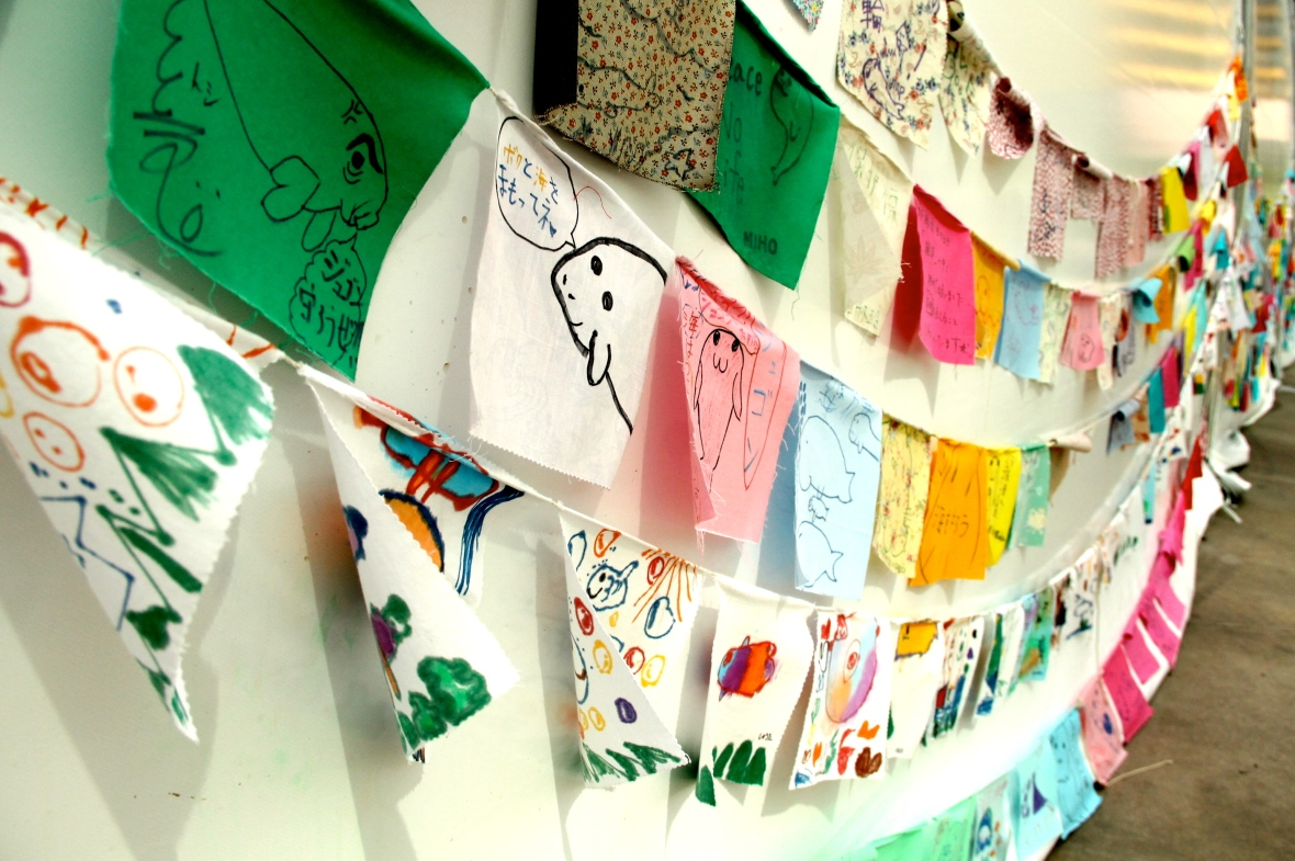Children's drawings in support of dugong protection © Nisha D'Souza