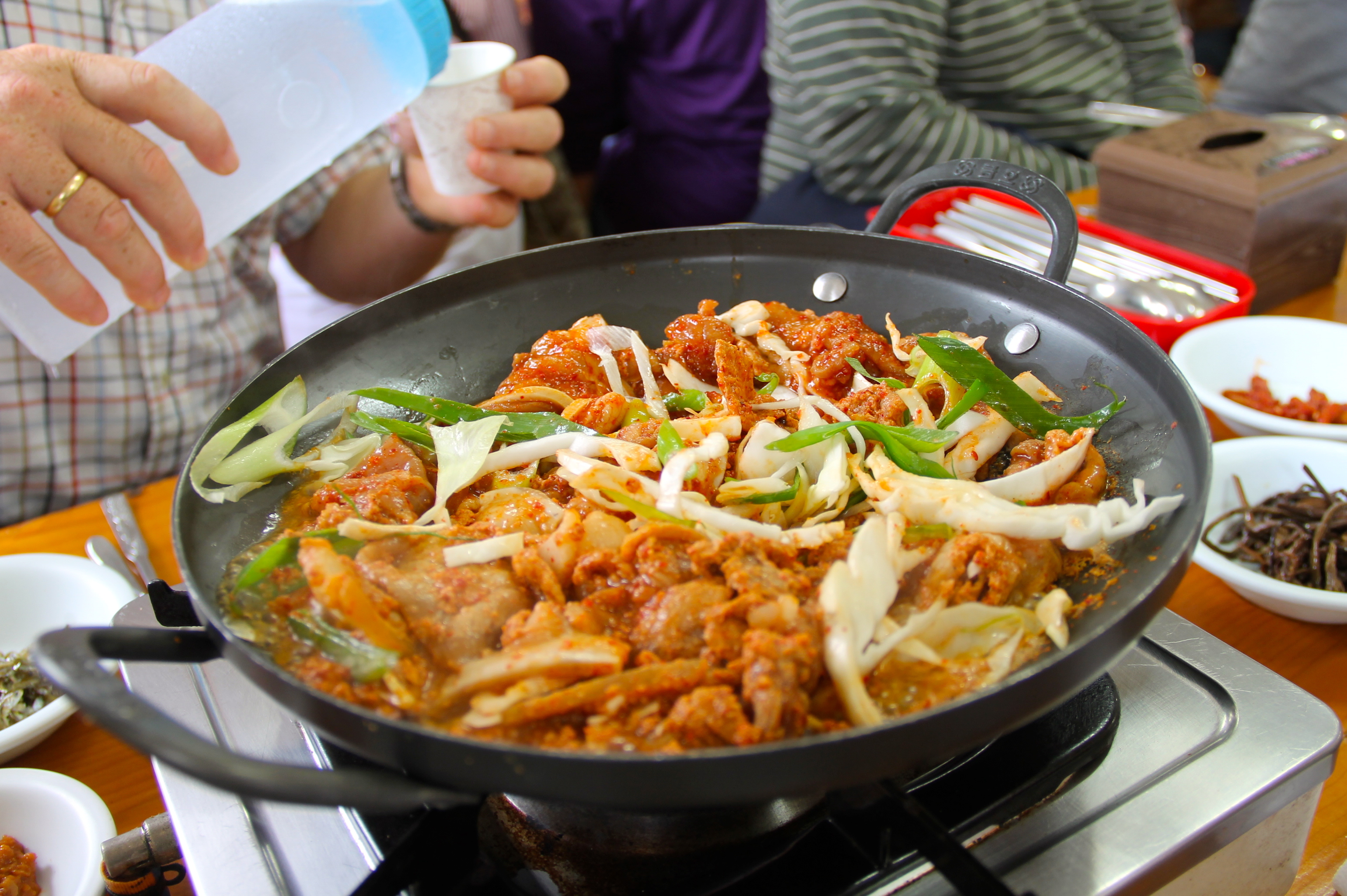 Pork Bulgogi, a staple at Korean barbecue restaurants © Nisha D'Souza