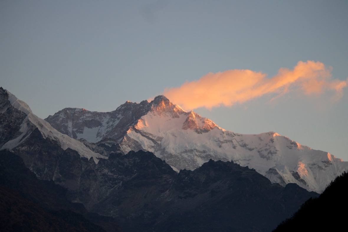 Mt. Kanchenjunga at sunrise © TING